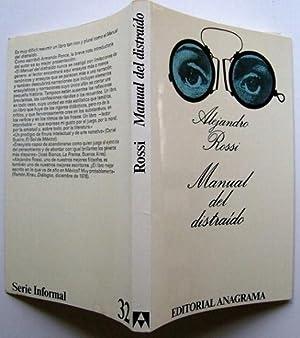 Manual Del Distraido: Alejandro Rossi