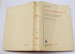 La Lingüistica. Sus Textos y su evolución: Hans Arens