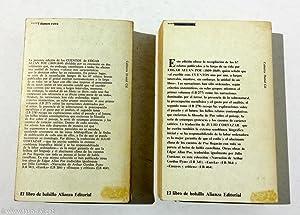 Cuentos /1 y Cuentos/ 2 (dos volúmenes): Edgar Allan Poe