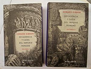 Decadencia y caída del imperio romano (volumen: Edward Gibbon