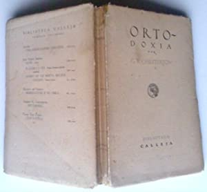 Ortodoxia: G. K. Chesterton