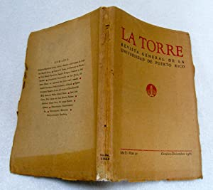 LA TORRE. Revista general de la Universidad: Enrique Martínez López;