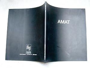 Catalogo de exposición.: Javier Marías; Frederic Amat
