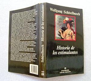 Historia de los estimulantes: Wolfgang Schivelbusch