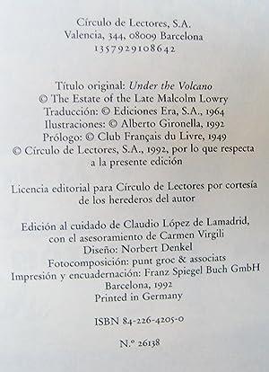 Bajo el Volcan: Malcolm Lowry