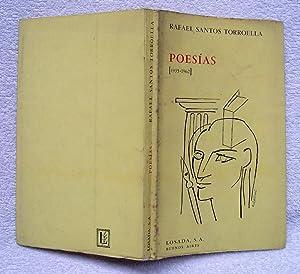 Poesías (1935 - 1962): Rafael Santos Torroella