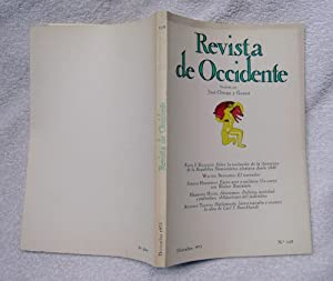 REVISTA DE OCCIDENTE N129. Sobre La Evolución: Fritz J. Raddatz;