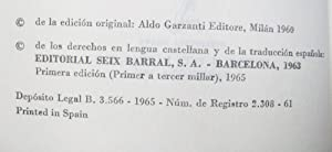 El Zafarrancho aquel de via Merulana: Carlo Emilio Gadda