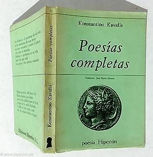 65 Poemas Recuperados: Constantino Kavafis