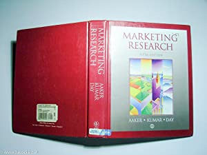 Marketing Research: Aaker, David A.;
