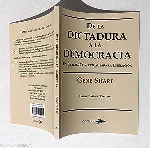 De la dictadura a la democracia. Un: Gene Sharp (Instituto