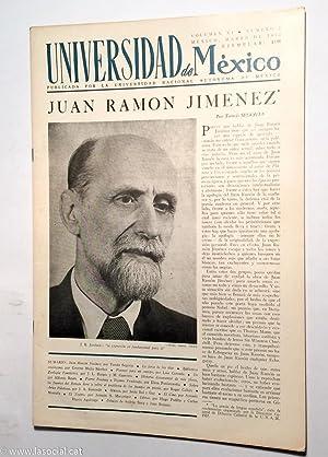 Revista Universidad Nacional de México.Volumen XI. Número: Tomás Segovia; Ernesto