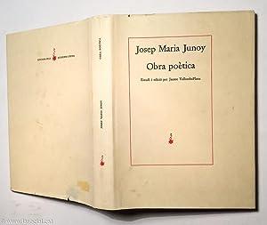 Obra poètica: Josep Maria Junoy