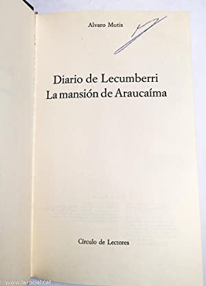Diario De Lecumberri: Álvaro Mutis