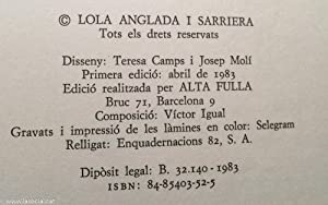 """Visions barcelonines I """"La vida a la llar""""; II """"Botigues, obradors i cases de menjar i ..."""