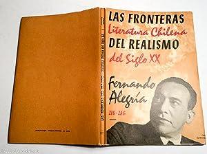 Las fronteras del realismo. Literatura Chilena del: Fernando Alegría