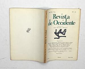 Revista De Occidente nº 25. Técnica y: Wolfgang Schadewald; Martín