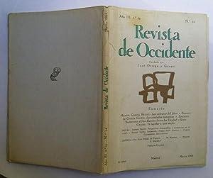 Revista De Occidente nº 24. Las Culturas: Manuel García Pelayo;