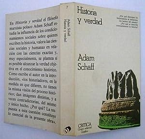 Historia y Verdad: Adam Schaff