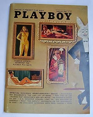 Playboy Magazine. Vol 14 No. 1 -: Patrich Chase; Ray