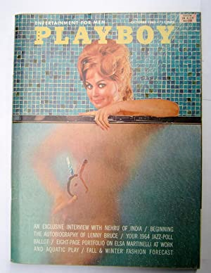 Playboy Magazine Vol 11 nº 10. october 1963