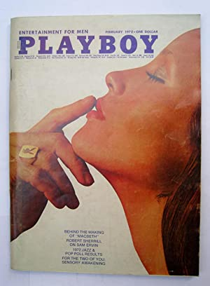 Playboy Magazine Vol 19 nº 02 February: Nelson Algren; Brock