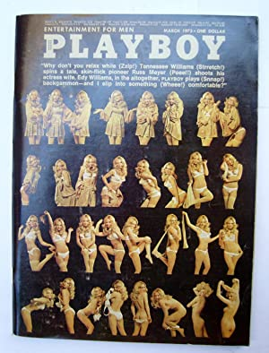 Playboy Magazine Vol 20 nº 03 march: Tennessee Williams; Stephen
