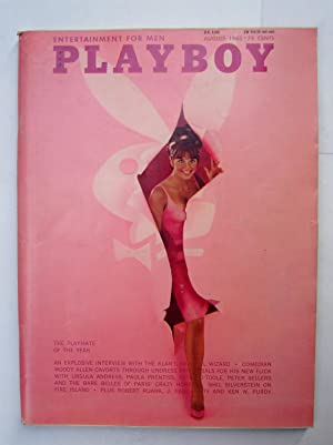Playboy Magazine Vol 12 nº 08 august 1965