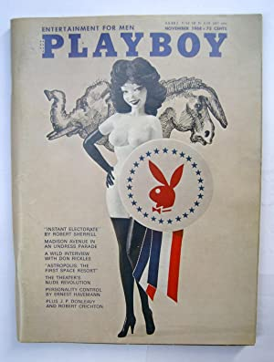 Playboy Magazine. Vol 15 No. 11 -: J. P. Donleavy;