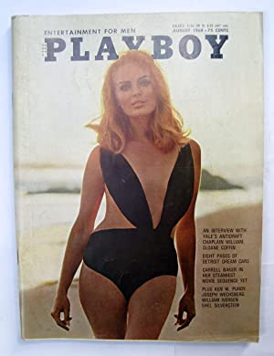 Playboy Magazine. Vol 15 No. 08 - august 1968
