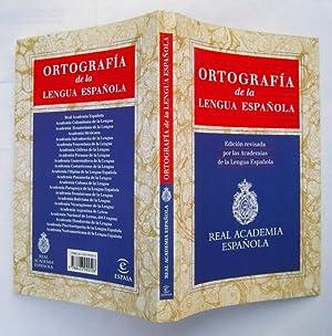 Ortografia de la Lengua Española: Real Academia Espanola (Staff)