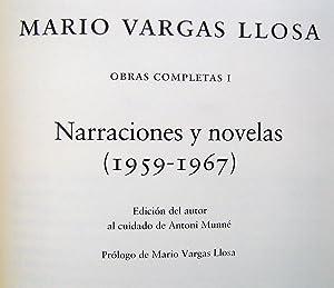 Obras Completas I. Narraciones y Novelas (1959 - 1967): Mario Vargas Llosa