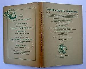 PAPELES DE SON ARMADANS. Año II (1957) Tomo IV Núm. XI (Febrero). Tiempo Raro y ...