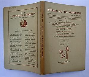 PAPELES DE SON ARMADANS. Año II (1957) Tomo V Núm. XV (Juni). Elogio De La Vulgaridad; La Mujer ...