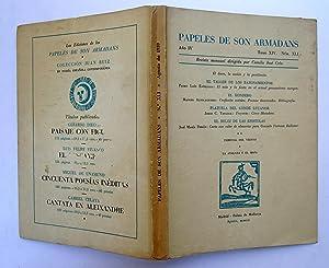 PAPELES DE SON ARMADANS. Año IV (1959) Tomo XIV Núm. XLI (agosto): El Deseo, La Acción y La ...