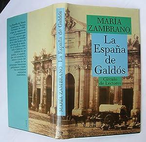 La España De Galdós: María Zambrano