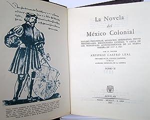 La Novela Del México Colonial: VV AA. Antonio Castro Leal (Recopilador)