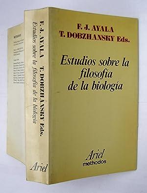 Estudios Sobre La Filosofía De La Biología: R. J. ayala; T. Dobzhansky Eds.