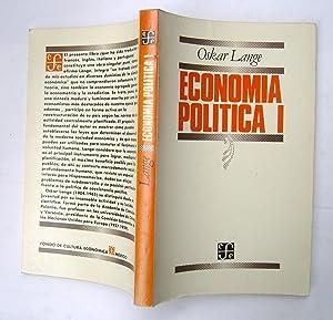 Economía Política I. Problemas Generales: Oskar Lange