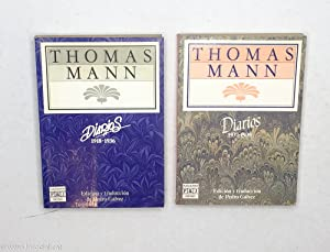 Diarios (1918 - 1936) ; (1937 - 1939). 2 Tomos: Thomas Mann