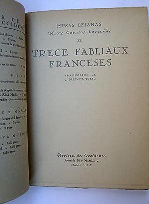 Trece Fabliaux Franceses: Anónimo