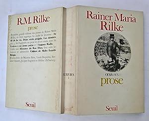 Oeuvres 1. Prose: Rainer Maria Rilke