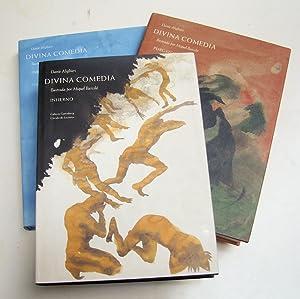 Divina Comedia (Infierno, purgatorio y paraiso) Edición Bilingüe. Ilustrada Por Miquel barceló: ...