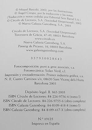 Divina Comedia (Infierno, purgatorio y paraiso) Edición Bilingüe. Ilustrada Por Miquel ...