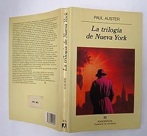 La Trilogía de Nueva York: Paul Auster