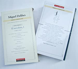 Obras Completas I. El Novelista, I (1948 - 1954): Miguel Delibes