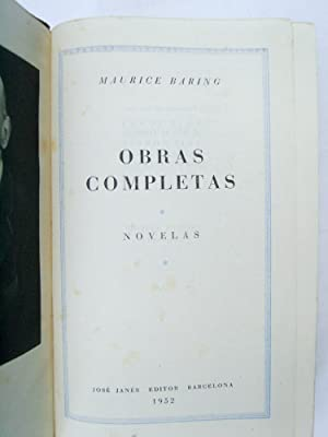 Obras Completas Tomo I: Maurice Baring