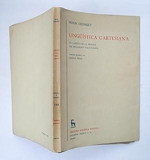 Lingüistica Cartesiana. Un Capítulo De La Historia Del Pensamiento Racionalista: Noam Chomsky