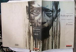 Teatro Completo. Ilustraciones De Jaume Plensa: William Shakespeare