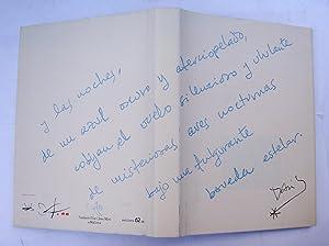 David: David Fernandez miró; Joan Brossa; Enrique Vila - Matas; Enrique Juncosa; Guillm Soler; ...
